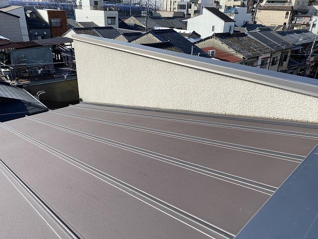 トタン屋根 ガルバリウム鋼板 遮熱塗装