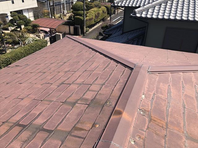 施工前 寄棟屋根