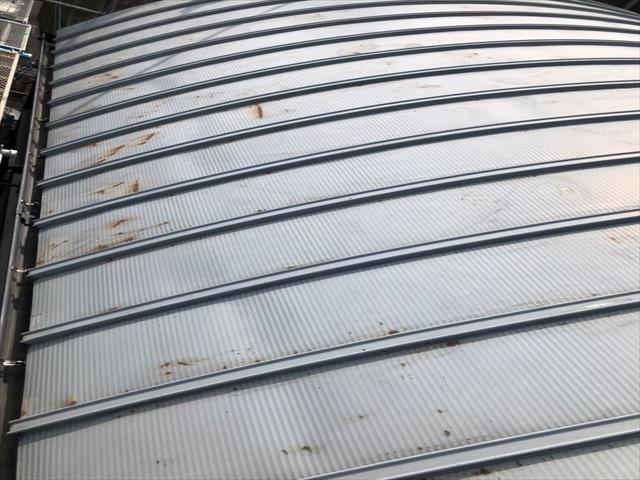 金属屋根 錆 劣化 屋根塗装