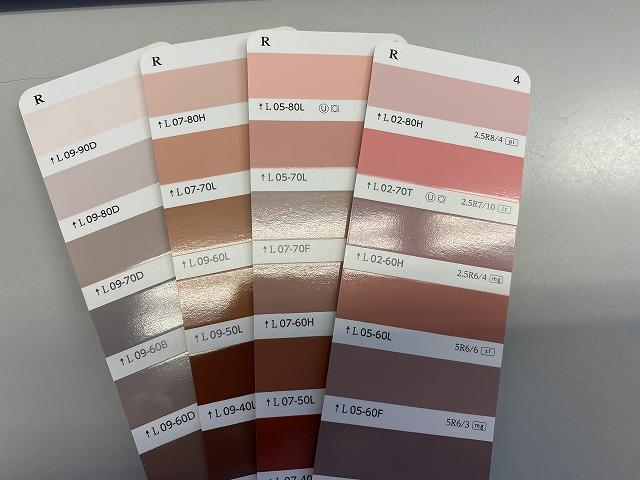 外壁塗装 外壁の色 ピンク 日塗工番号