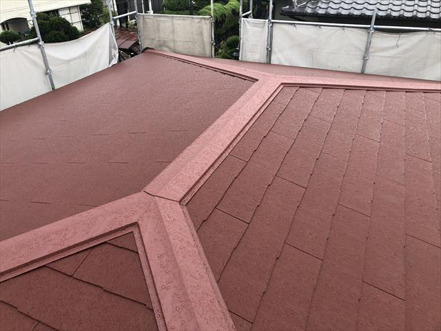 屋根葺き替え 完工