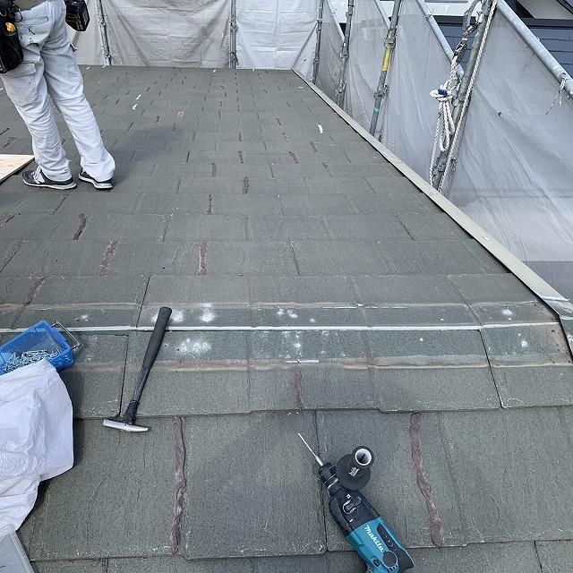 屋根葺き替え工事 板金撤去 カバー工法