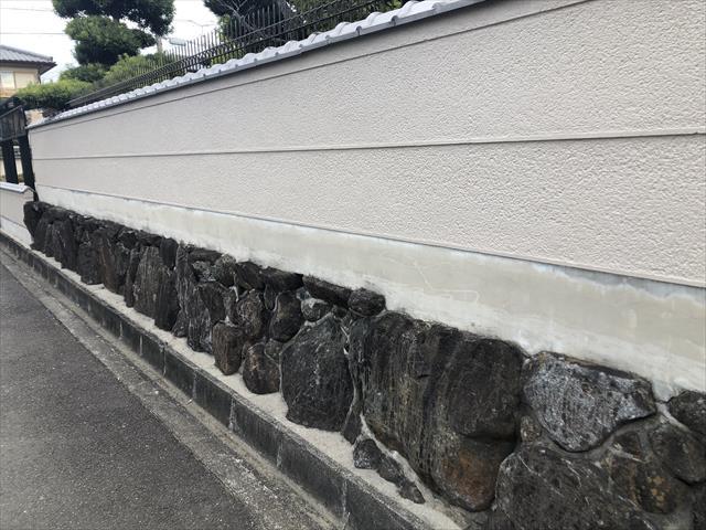 塀 基礎巾木