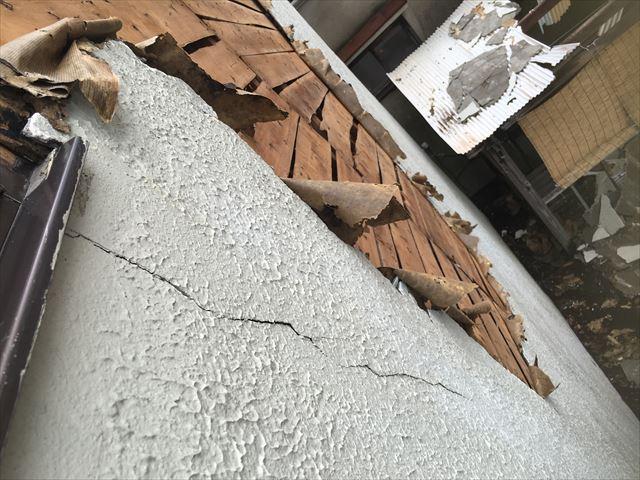 外壁モルタル 剥離 欠落