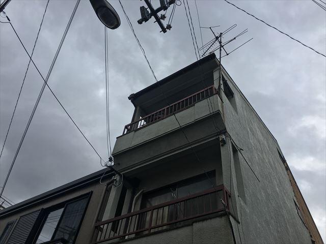 大阪市 東淀川区 台風被害