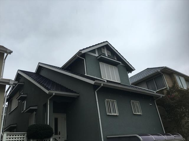 屋根塗装工事 セメント瓦塗装