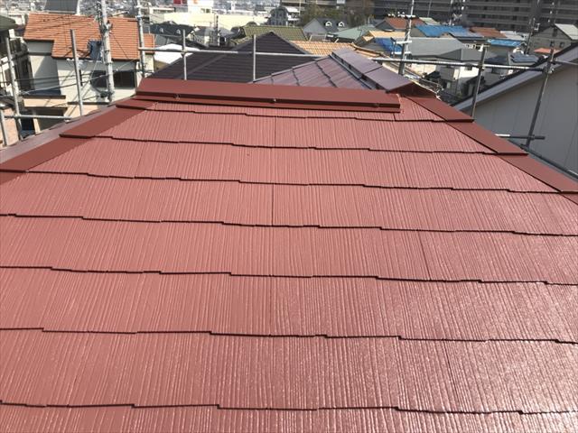 ファインパーフェクトベスト 屋根塗装