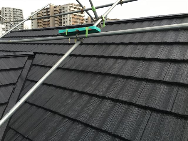 大同塗料 屋根塗料 塗装仕上がり