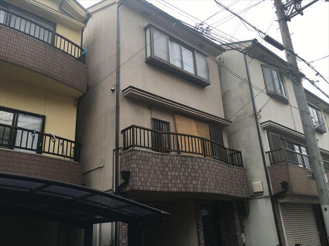 摂津市 外壁・屋根塗装工事 施工前