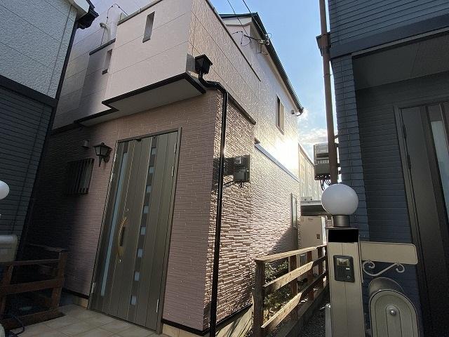 外壁塗装 外壁の色 ピンク 09-60D 09-80D