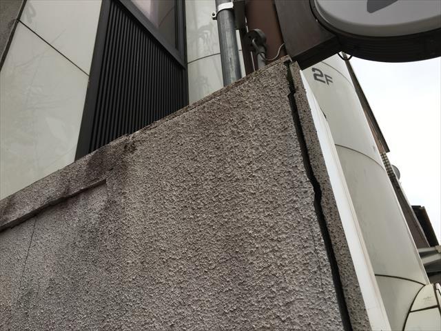 ALC外壁 クラック