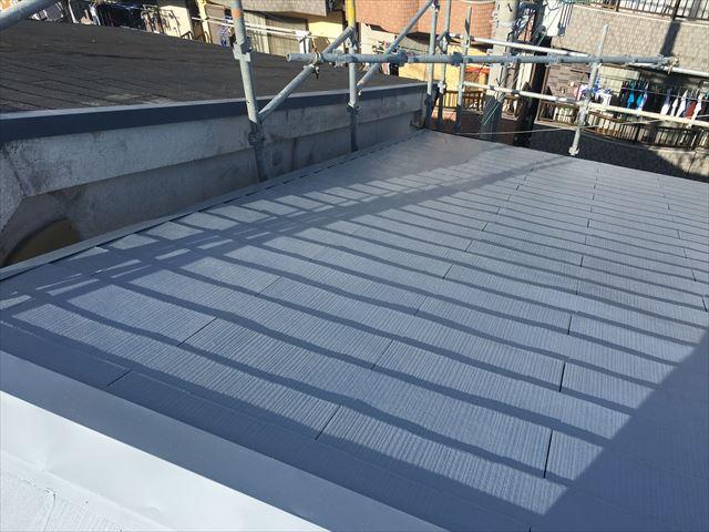 カラーベスト屋根 塗装完了