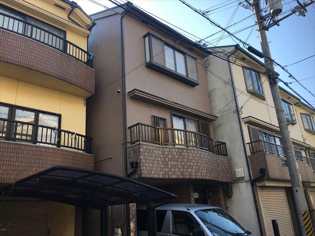 摂津市 外壁・屋根塗装工事 施工後