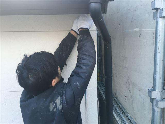 シーリング打ち替え工事 撤去作業