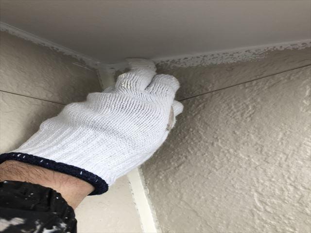 サイディング外壁 下塗り