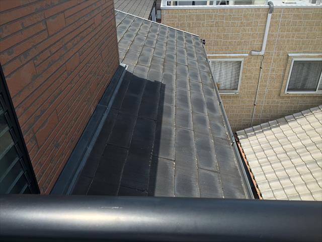 築18年 カラーベスト屋根