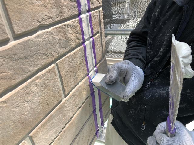 大阪市淀川区 外壁塗装 シーリング工事 シーリング打ち替え