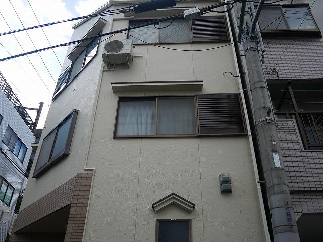 大阪市西淀川区 外壁塗装 施工後
