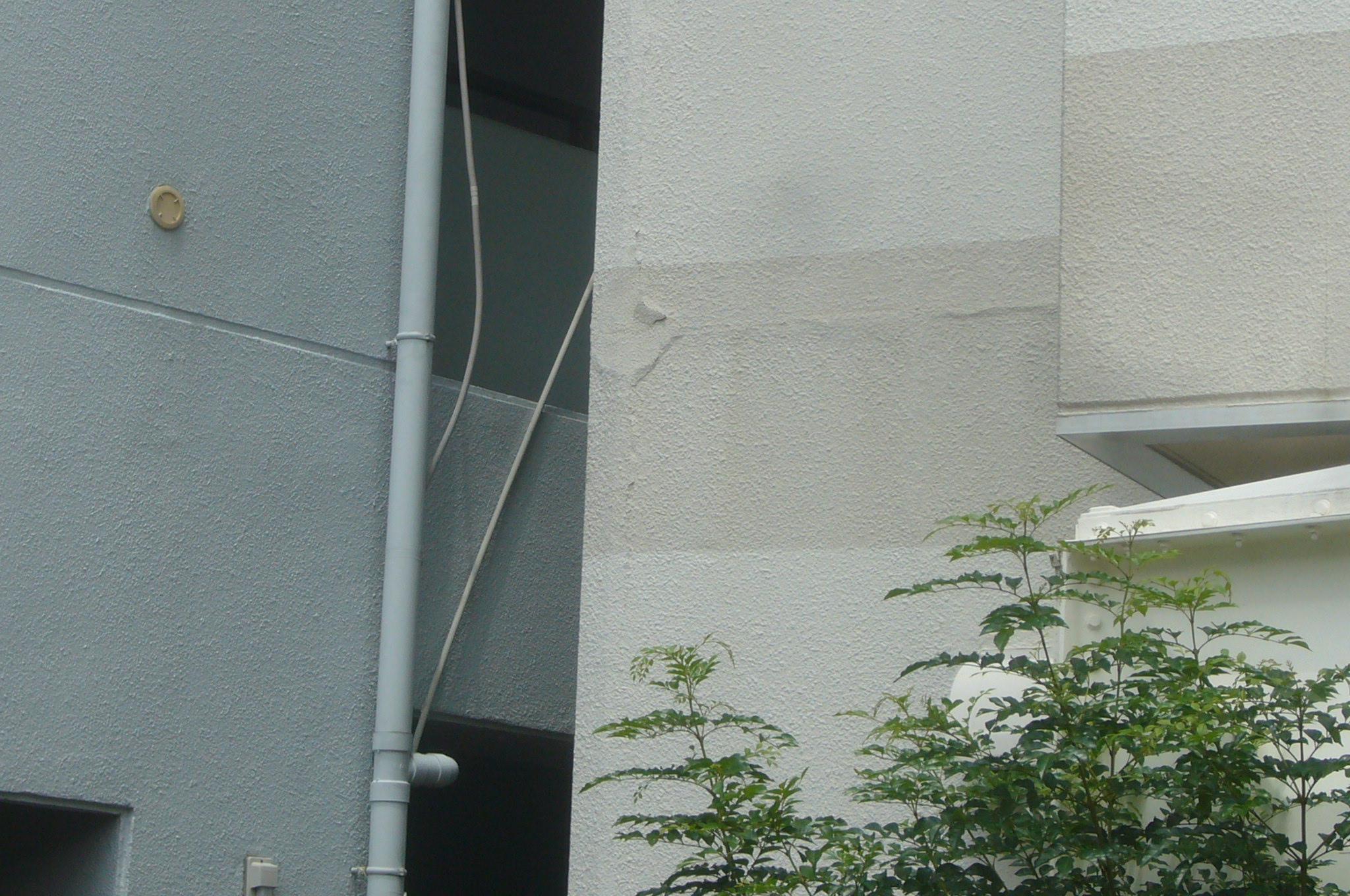 外壁の浮き