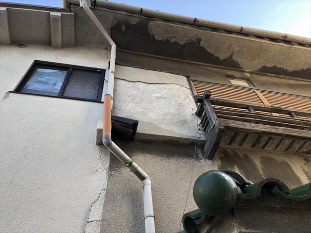 外壁 モルタル 劣化