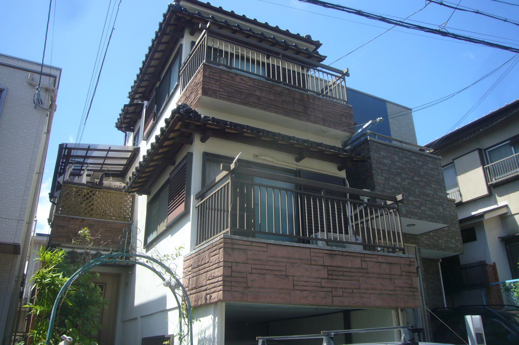 木造3階建て住宅