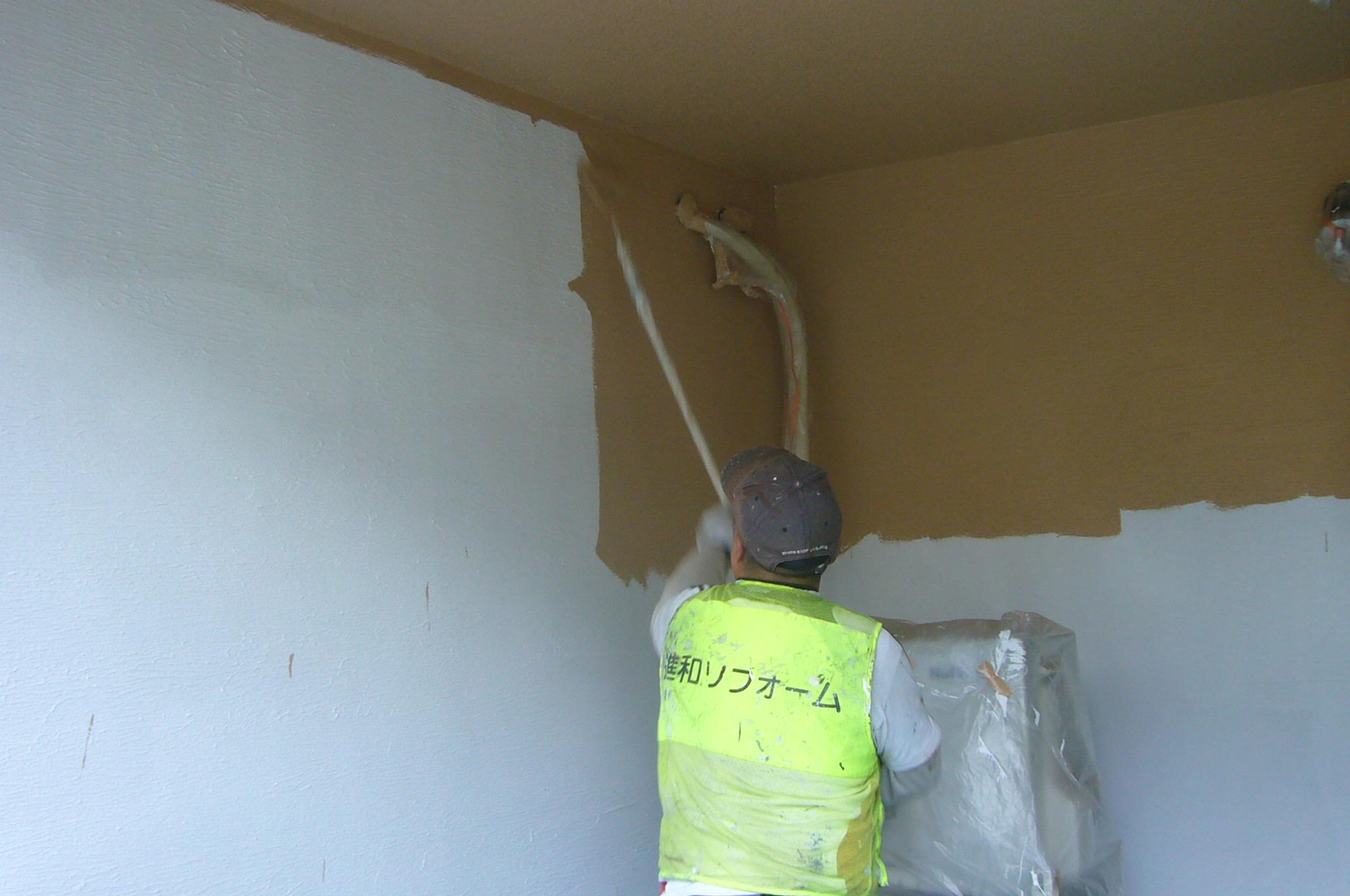 車庫の塗装