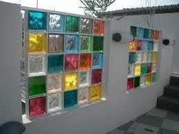 カラーガラスブロック