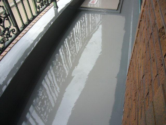 ウレタン防水主剤塗布