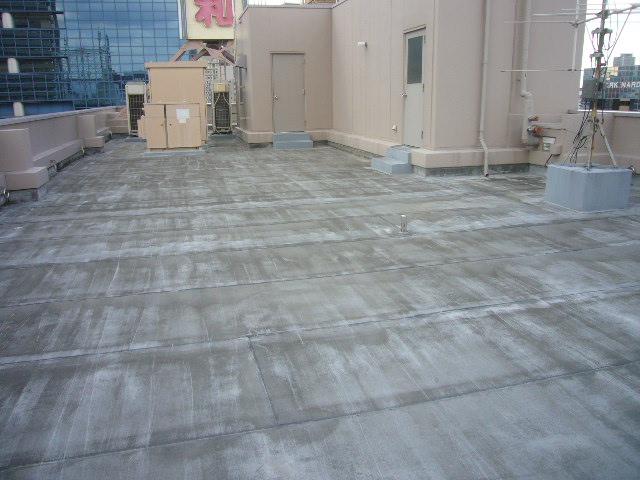 屋上防水劣化調査