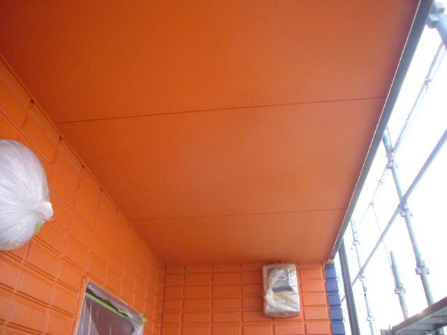 オレンジ天井完了