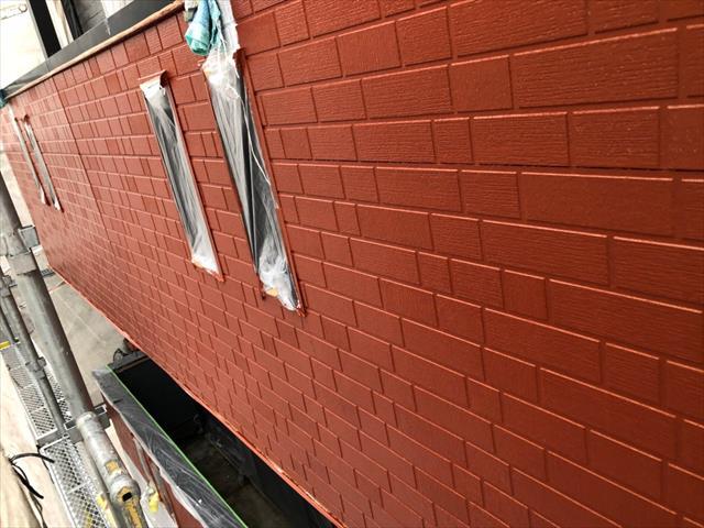 外壁塗装 上塗り サイディング