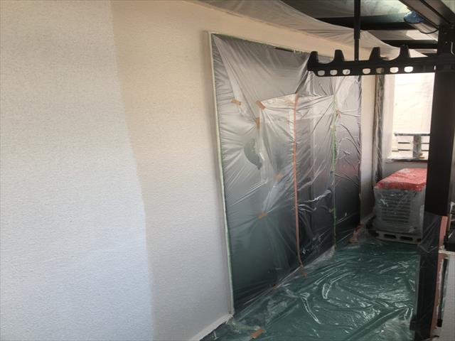 中塗り モルタル外壁