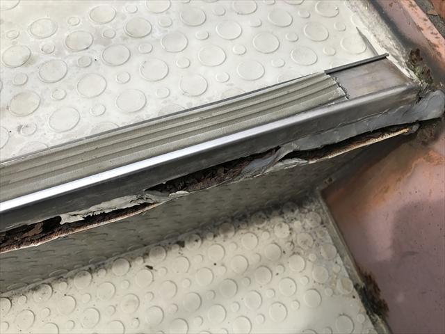 長尺シート 劣化 亀裂