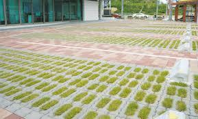 緑化ブロック施工例