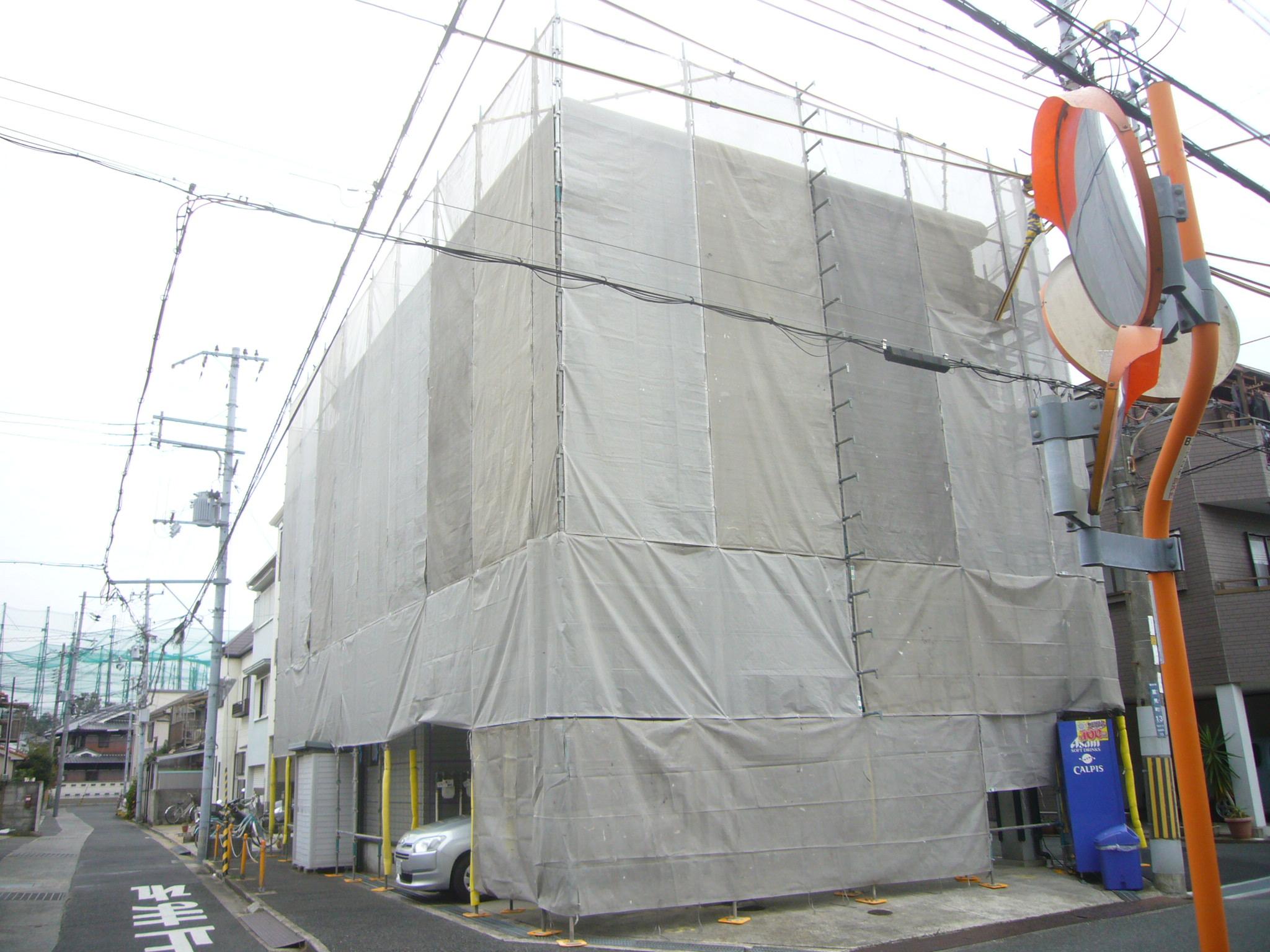 外壁塗装用足場