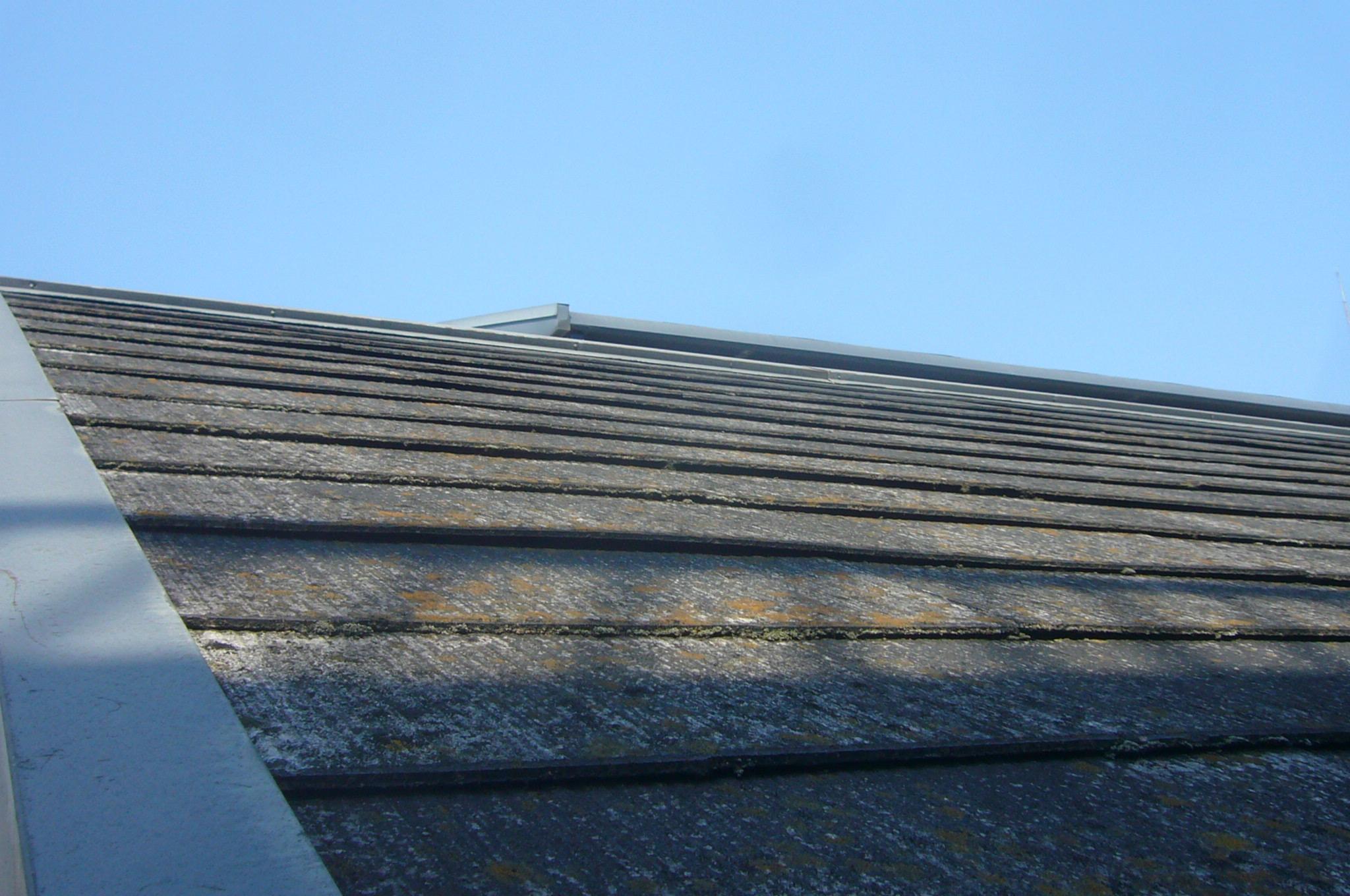 カラーベスト屋根の点検