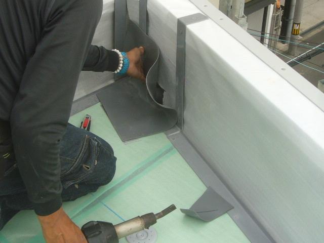 笠木用鋼板