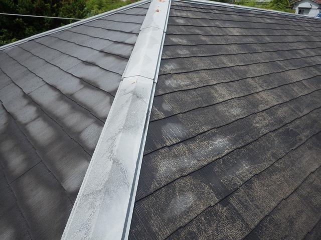 屋根洗浄後の写真