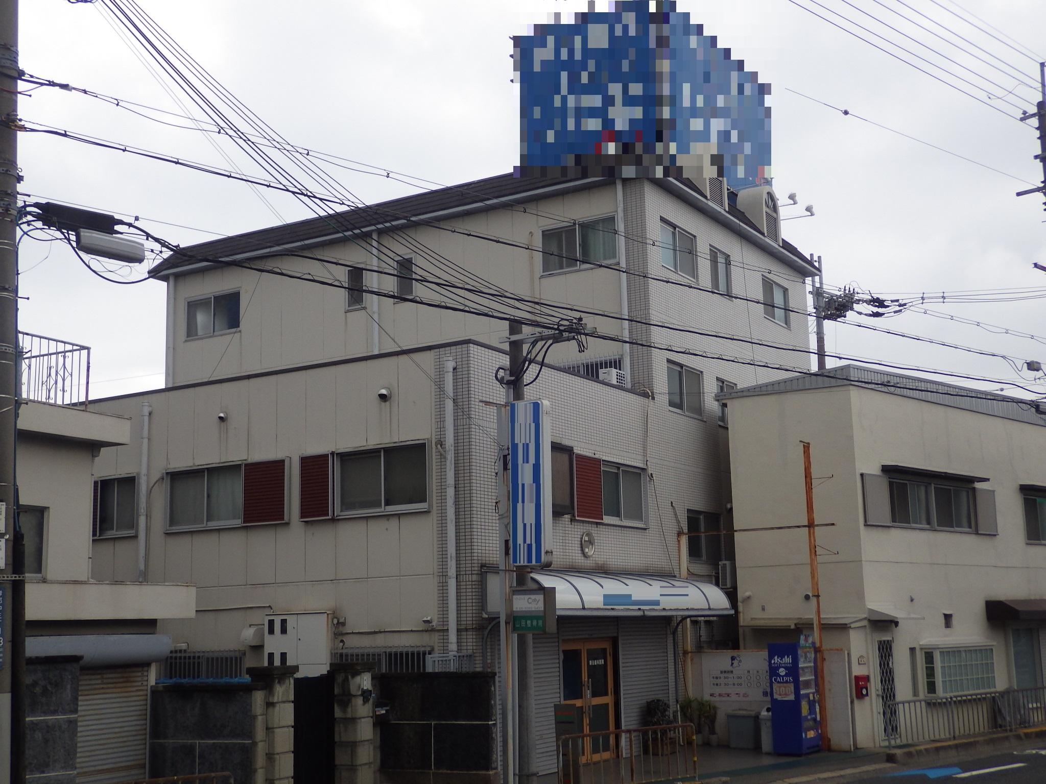 4階建てマンションの塗装